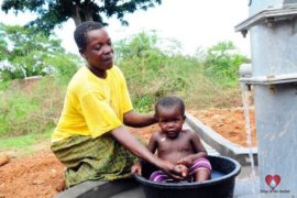 Drop in the Bucket Africa water charity, completed wells, Olemu Basere Borehole Uganda-22