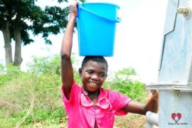 Drop in the Bucket Africa water charity, completed wells, Olemu Basere Borehole Uganda-24