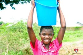 Drop in the Bucket Africa water charity, completed wells, Olemu Basere Borehole Uganda-26