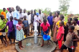 Drop in the Bucket Africa water charity, completed wells, Olemu Basere Borehole Uganda-29