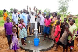 Drop in the Bucket Africa water charity, completed wells, Olemu Basere Borehole Uganda-30