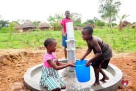 Drop in the Bucket Africa water charity, completed wells, Olemu Basere Borehole Uganda-34