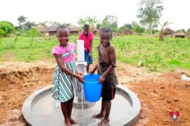 Drop in the Bucket Africa water charity, completed wells, Olemu Basere Borehole Uganda-35
