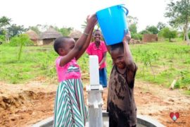 Drop in the Bucket Africa water charity, completed wells, Olemu Basere Borehole Uganda-36