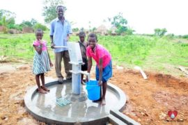 Drop in the Bucket Africa water charity, completed wells, Olemu Basere Borehole Uganda-42