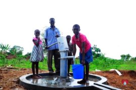 Drop in the Bucket Africa water charity, completed wells, Olemu Basere Borehole Uganda-43