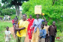 Drop in the Bucket Africa water charity, completed wells, Olemu Basere Borehole Uganda-49