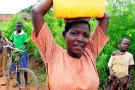 Drop in the Bucket Africa water charity, completed wells, Ongemen Borehole Uganda-03