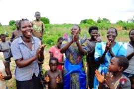 Drop in the Bucket Africa water charity, completed wells, Ongemen Borehole Uganda-29