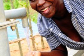 Drop in the Bucket Africa water charity, completed wells, Ongemen Borehole Uganda-33