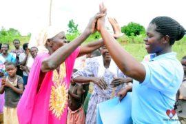 Drop in the Bucket Africa water charity, completed wells, Ongemen Borehole Uganda-45