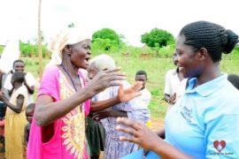 Drop in the Bucket Africa water charity, completed wells, Ongemen Borehole Uganda-47