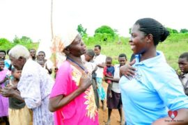 Drop in the Bucket Africa water charity, completed wells, Ongemen Borehole Uganda-50