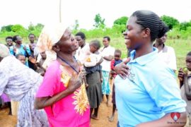 Drop in the Bucket Africa water charity, completed wells, Ongemen Borehole Uganda-51