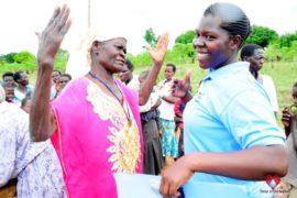 Drop in the Bucket Africa water charity, completed wells, Ongemen Borehole Uganda-52