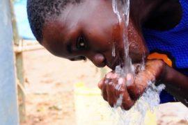 Drop in the Bucket Africa water charity, completed wells, Ongemen Borehole Uganda-59