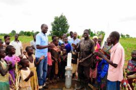 Drop in the Bucket Africa water charity, completed wells, Ongemen Borehole Uganda-69