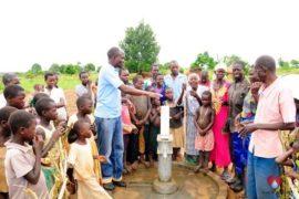 Drop in the Bucket Africa water charity, completed wells, Ongemen Borehole Uganda-70