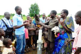 Drop in the Bucket Africa water charity, completed wells, Ongemen Borehole Uganda-83