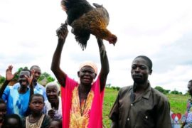 Drop in the Bucket Africa water charity, completed wells, Ongemen Borehole Uganda-87