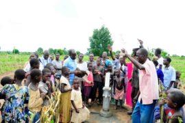 Drop in the Bucket Africa water charity, completed wells, Ongemen Borehole Uganda-89