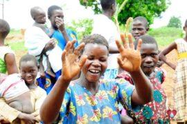 Drop in the Bucket Africa water charity, completed wells, Ongemen Borehole Uganda-95