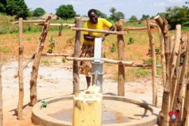 Drop in the Bucket Africa water charity, completed wells, Agirigiroi Ajiki Borehole Well Uganda-03