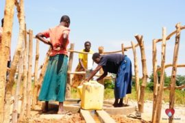 Drop in the Bucket Africa water charity, completed wells, Agirigiroi Ajiki Borehole Well Uganda-05
