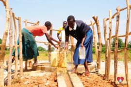 Drop in the Bucket Africa water charity, completed wells, Agirigiroi Ajiki Borehole Well Uganda-08
