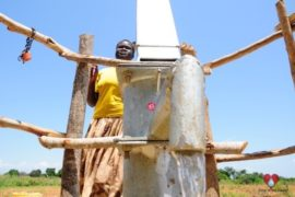 Drop in the Bucket Africa water charity, completed wells, Agirigiroi Ajiki Borehole Well Uganda-13