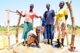 Drop in the Bucket Africa water charity, completed wells, Agirigiroi Ajiki Borehole Well Uganda-42
