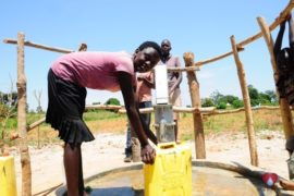 Drop in the Bucket Africa water charity, completed wells, Agirigiroi Ajiki Borehole Well Uganda-57