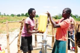 Drop in the Bucket Africa water charity, completed wells, Agirigiroi Ajiki Borehole Well Uganda-61