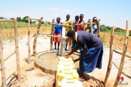 Drop in the Bucket Africa water charity, completed wells, Agirigiroi Ajiki Borehole Well Uganda-72