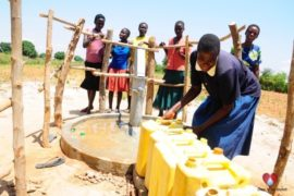 Drop in the Bucket Africa water charity, completed wells, Agirigiroi Ajiki Borehole Well Uganda-73