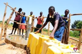 Drop in the Bucket Africa water charity, completed wells, Agirigiroi Ajiki Borehole Well Uganda-74