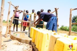 Drop in the Bucket Africa water charity, completed wells, Agirigiroi Ajiki Borehole Well Uganda-75