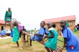 Drop in the Bucket Africa water charity, completed wells, Father Amoding Primary School Well Uganda-04