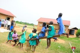 Drop in the Bucket Africa water charity, completed wells, Father Amoding Primary School Well Uganda-05