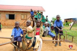 Drop in the Bucket Africa water charity, completed wells, Father Amoding Primary School Well Uganda-06