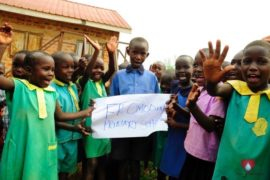 Drop in the Bucket Africa water charity, completed wells, Father Amoding Primary School Well Uganda-11