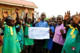 Drop in the Bucket Africa water charity, completed wells, Father Amoding Primary School Well Uganda-12
