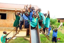Drop in the Bucket Africa water charity, completed wells, Father Amoding Primary School Well Uganda-13
