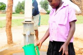 Drop in the Bucket Africa water charity, completed wells, Father Amoding Primary School Well Uganda-17