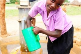 Drop in the Bucket Africa water charity, completed wells, Father Amoding Primary School Well Uganda-19