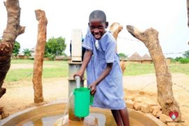 Drop in the Bucket Africa water charity, completed wells, Father Amoding Primary School Well Uganda-22