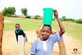 Drop in the Bucket Africa water charity, completed wells, Father Amoding Primary School Well Uganda-26