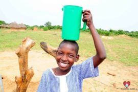 Drop in the Bucket Africa water charity, completed wells, Father Amoding Primary School Well Uganda-29