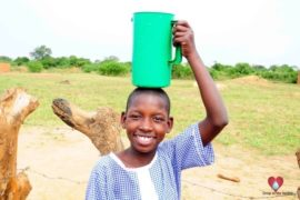 Drop in the Bucket Africa water charity, completed wells, Father Amoding Primary School Well Uganda-31