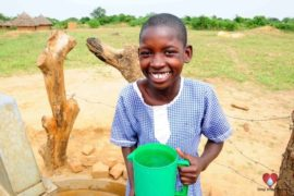 Drop in the Bucket Africa water charity, completed wells, Father Amoding Primary School Well Uganda-34